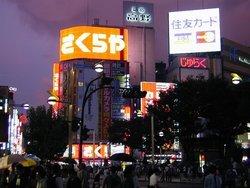 Quartier Shinjuku, la nuit